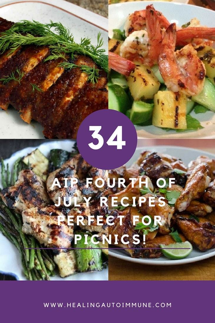 34 AIP Fourth of July Recipes Perfect for Picnics! https://healingautoimmune.com/aip-fourth-of-july-recipes