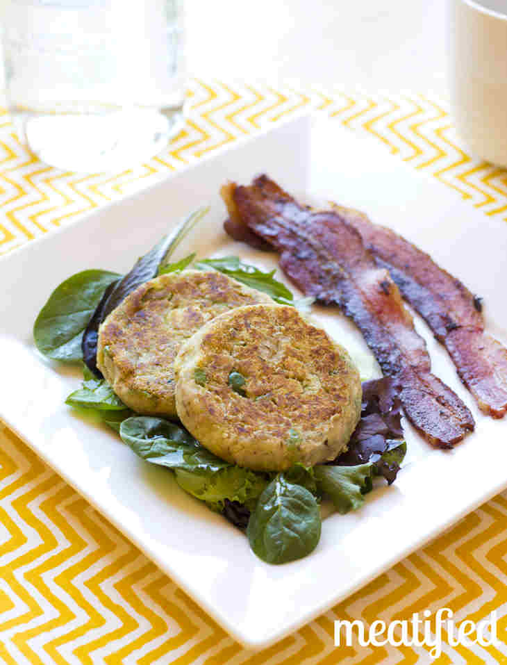 Tuna Cakes with Green Olives