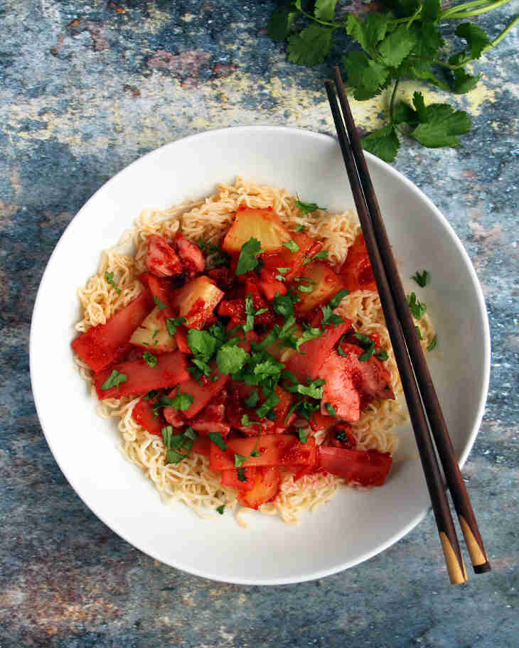 AIP Sweet and Sour Chicken Recipe #aip https://healingautoimmune.com/aip-sweet-sour-chicken-recipe