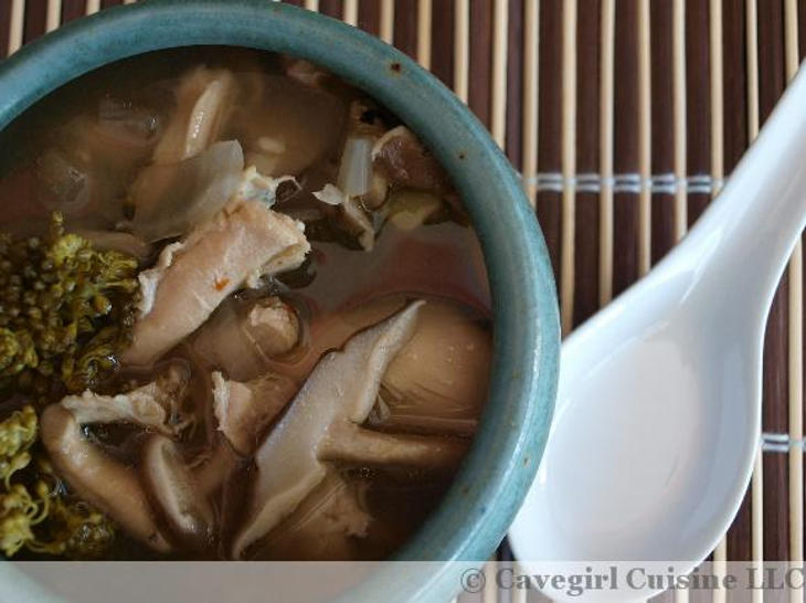 Asian Chicken and Broccoli Soup