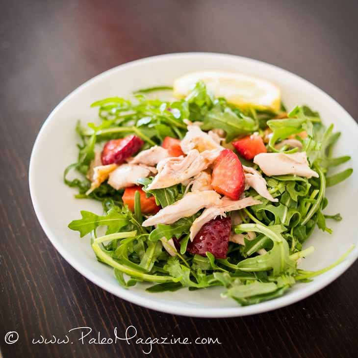 Easy AIP Chicken Salad with Honey Lemon Dressing