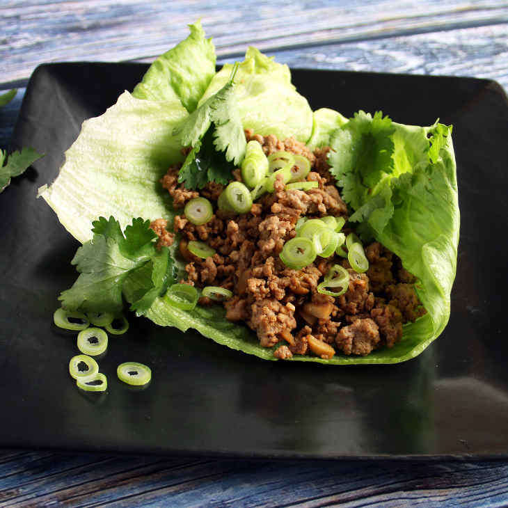 AIP Chicken Lettuce Wraps