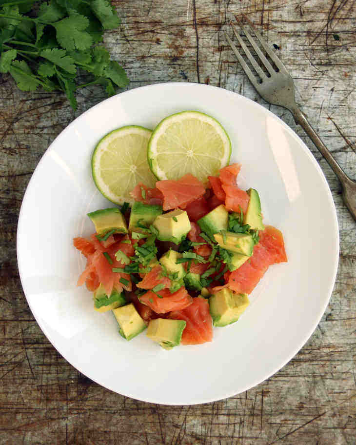 AIP Smoked Salmon Ceviche Recipe #aip https://healingautoimmune.com/aip-smoked-salmon-ceviche-recipe