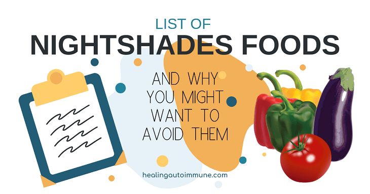 List of Nightshades and Why You Might Want To Avoid Them